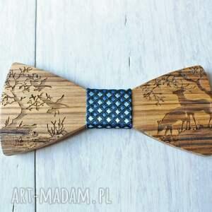 niekonwencjonalne muchy i muszki drewniane zestaw drewniana muszka poszetka