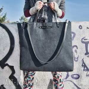 handmade rękodzieło duża torba na laptop