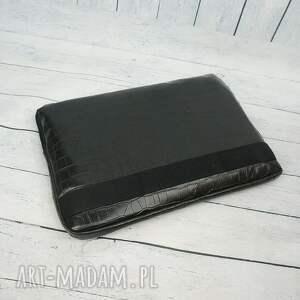 handmade futerał elegancki na laptopa mały