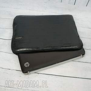 handmade torebka elegancki futerał na laptopa mały