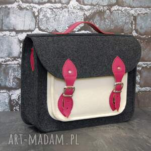 pojemna filcowa torba na laptopa 15cali