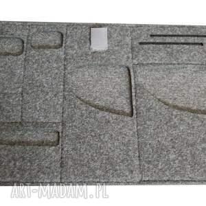 hand-made na laptopa aktówka filcowa torba