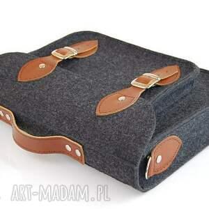 na laptopa skóra filcowa torba laptop 15