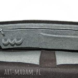 Filcowa torba na laptop 15 - personalizowana - grawerowana dedykacja grawer