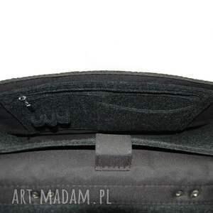 Etoi design brązowe torba filcowa na laptop