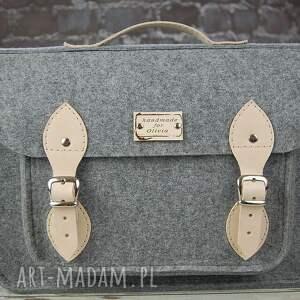 urokliwe na laptopa torba filcowa - personalizowana