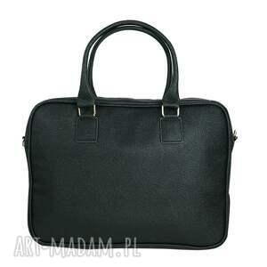 torba na laptopa czarne manzana biznes styl-
