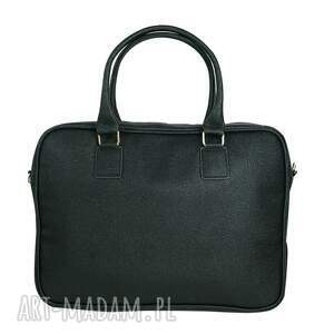 torba na laptopa szare manzana biznes styl -