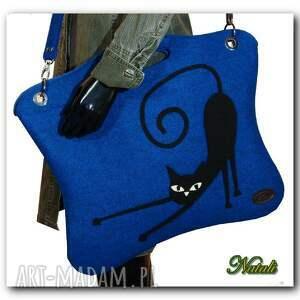 urokliwe na laptopa torba oryginalna, uniwersalna niebieska