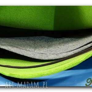na laptopa torba oryginalna, uniwersalna zielona