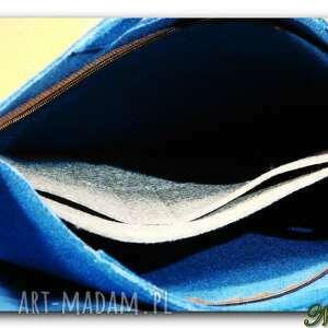 torebka oryginalna, uniwersalna niebieska
