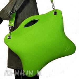 oryginalne na laptopa torebka oryginalna, uniwersalna zielona