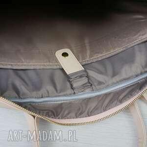 handmade manzana torba na laptopa granatowa