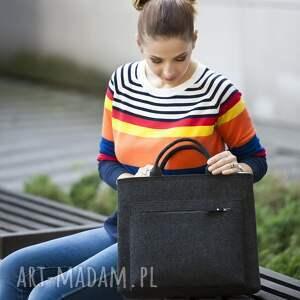 czarne na laptopa laptop torba laptopa, z filcu