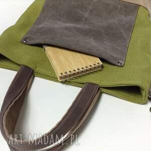hand-made na laptopa torba do ręki, ramię