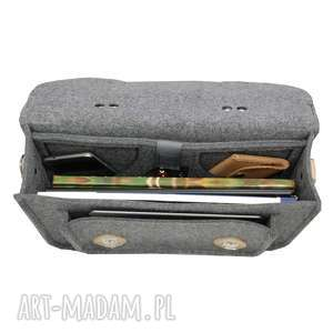niesztampowe na laptopa torba z filcu 11