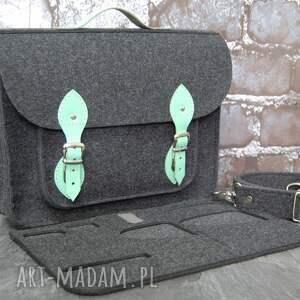 torba na laptopa z filcu