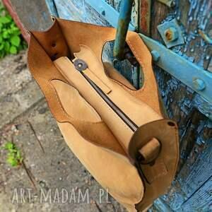 torebka torba skórzana ręcznie