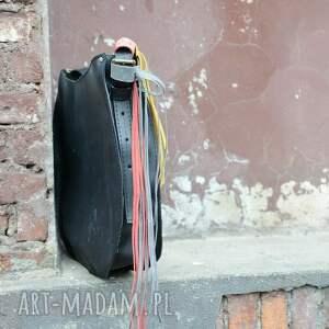 intrygujące pojemna torba skórzana