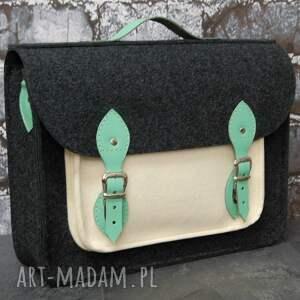 trendy na laptopa laptop torba filc skóra 15