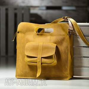 na laptopa torebka-torba torba skórzana ręcznie robiona