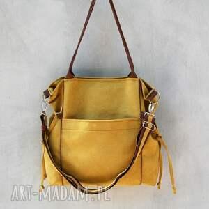 niekonwencjonalne na ramię prezent amber - duża torba - shopper
