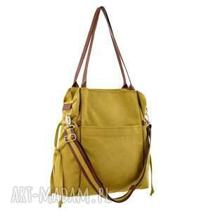 shopper na ramię amber - duża torba
