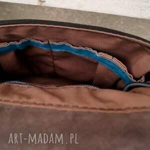 eleganckie na ramię turkus balbina kuferek skóra naturalna