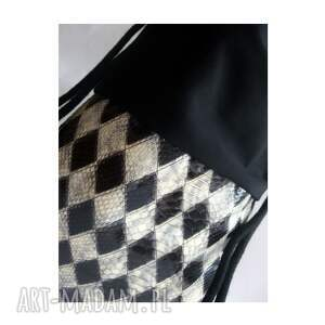 na ramię worek bbag szach mat plecak skóra