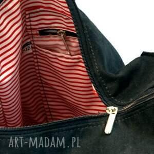 hand made na ramię torebka klasyczna w kształcie, piękna, pojemna