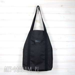 na ramię pojemna torba xl wykonana z ortalionu