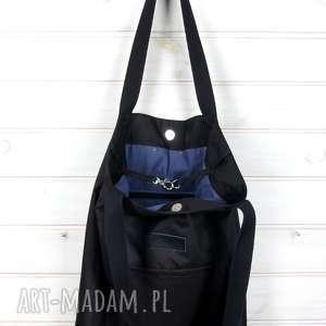 eleganckie na ramię torba czarna pojemna wodoodporna