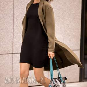 efektowne na ramię torebka-damska czarna torba damska