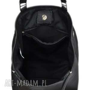 09bf559bb26db ... modna-torebka-damska na ramię 34-0001 czarna torebka ze skóry unikalne  ...