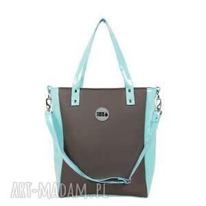 eleganckie na ramię torba-na-ramie damska torebka cuboid