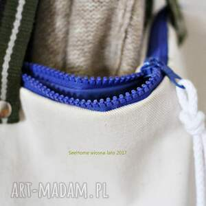 nietypowe na ramię bawełnian duża bawełniana torba