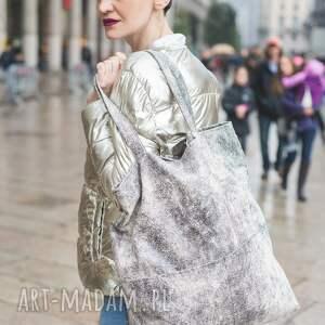atrakcyjne na ramię biała-torebka duża biała torba xl