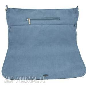torba na ramię na duża listonoszka blue navy