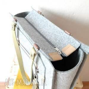 CATOO accessories na ramię: Duża pojemna torebka CatooLabel #350 - minimalistyczna