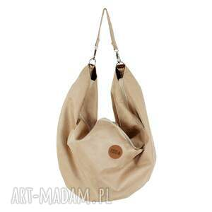 na ramię torba duża oversize voor zamsz