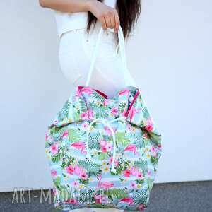 intrygujące na ramię torba-na-ramię duża torba i plażę