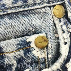 na ramię eco duża torba upcykling jeans
