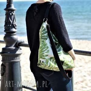 na ramię torebka duży worek xl w liście