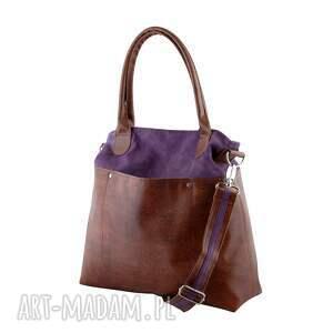 trendy na ramię shopper fiella - duża torba zgaszony