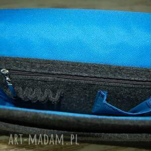 trendy na ramię wzór filcowa torba 15 personalizowana