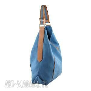 worek na ramię niebieskie furia - torba niebieska