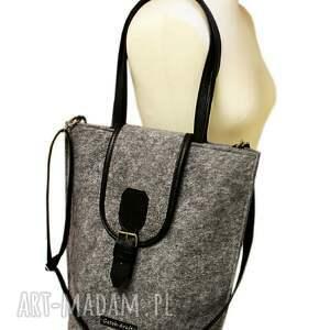efektowne na ramię shopper glam vol