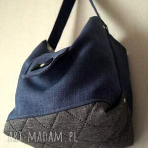 69be2aeedeed9 niebieskie na ramię torebka granatowa torba   worek