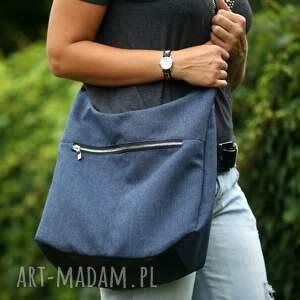 niebieskie na ramię torebka wymiary torebki (rozłożonej na płasko)