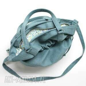 wyjątkowe na ramię worek hobo sack - sakiewka - tkanina